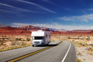 Sprinter van traveling to utah