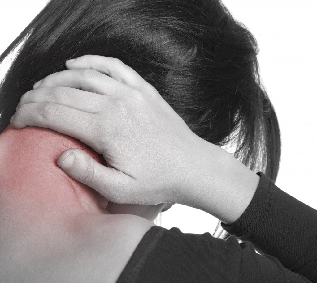 pain at the back of the neck