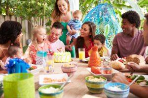 Celebrating Child's Birthday At Home
